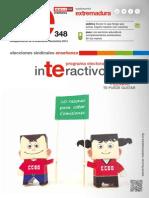 Programa Electoral Interactivo Enseñanza Pública 2014