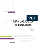 Manual de Modelado y Simulacion