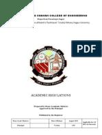 Acadamic Regulations