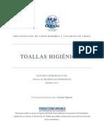 ODECU Informe Toallas Higinicas