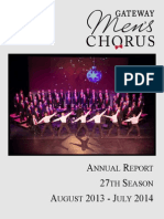Annual Report 2014 (27th Season)