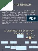 Survey Research Bba