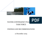 Water Contingency Final Report