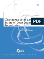 Confidence in the Long-term Safety of Deep Geological Repositories