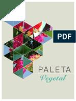 Paleta Vegetal 2013