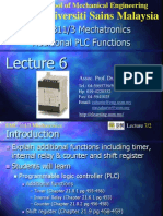 Additional PLC Functions