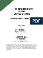 Scrap Tire Markets in the Unites States