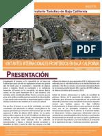Visitantes Internacionales en Baja California