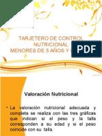 CAPACITACION TARJETERO DE CONTROL NUTRICIONAL.pptx