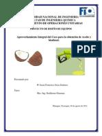 Aprovechamiento Integral Del Coco Para La Obtencin de Aceite y Biodiesel