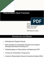 Resuscitation Science Update 2014