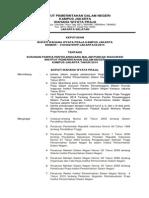 Surat Keputusan Panitia Inagurasi