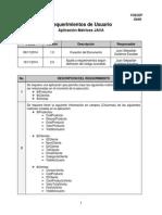 FR RequerimientosAplicacionMatrices v1