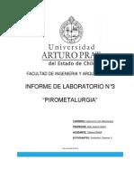 laboratorio pirometalurgia