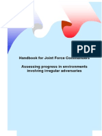 JFCs Assessment of Progress Handbook