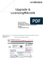 Modul Upgrade, Mikrotik