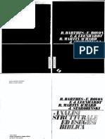 (Universo Cristiano) Barthes, R. Bovon, F. Leenhardt, F.J. Achard, R.M. Starobinski, J.-analisi Strutturale Ed Esegesi Biblica-SEI (1973)