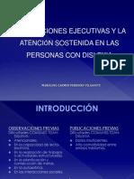 Funciones Ejecutivas en Personas Con Dislexia