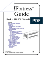 Best Power Fortress Li User Manual