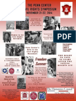 Penn Center Civil Rights Symposium flyer