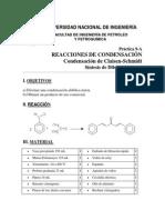 Org II Lab 9 Síntesis de Dibenzalacetona