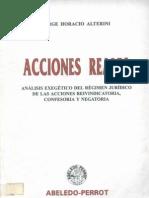 Alterini, Jorge Horacio - Acciones Reales