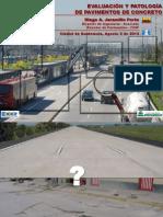 Evaluación y Patología de Pavimentos de Concreto - GUATEMALA 2012