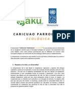 CARICUAO PARROQUIA ECOLÓGICA - Ejes Temáticos.pdf