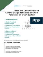 Two Inverted Pendulum