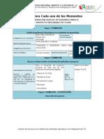 Elaboracion Guia de Actividades Para El Desarrollo Del Proyecto Integrado de Clase