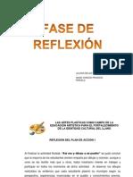 FASE DE REFLEXION del proyecto de investigacion