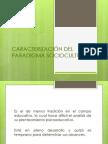 caracterización Del Paradigma Sociocultural