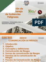 Comunicacion de Riesgos y Manejos de Sustancias Peligrosas