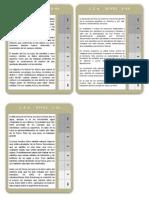 Fichas Lecturas Autoadministradas Nivel 6