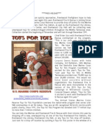 2014 Toys for Tots Press Release