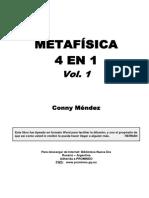 conny mendez metafisica   4 en 1  volumen 1