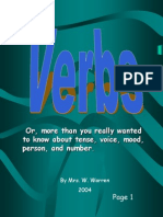 Verb Tense My Powerpoints56dfrh5