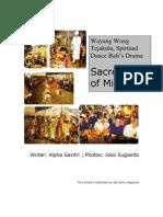 Wayang Wong Tejakula - PDF