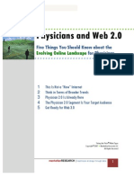 Physicians and Web 2 0 from Manhattan Research