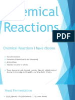 chemical reactions presentation