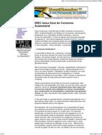 Guia Do Consumo Sustentável - IDEC
