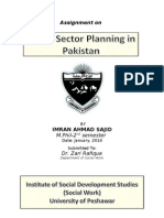 Public Sector Planning in Pakistan by Dr. Imran Ahmad Sajid