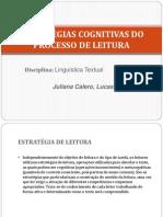 Aspectos Cognitivos Do Processo de Leitura