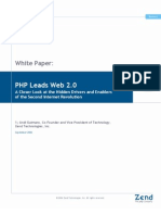 PHP Leads Web2 0