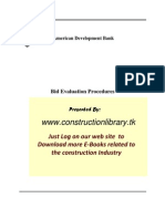 Bid Evaluation Procedure