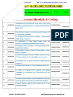 Ieee 2014-2015 Matlab Power System Projects Titles List Globalsoft Technologies
