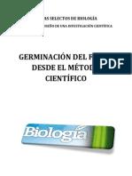 Germinacion Frijol desde el método científico