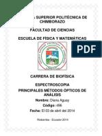 3. Principales Métodos Opticos