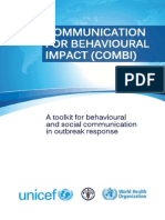 Communication for Behavioural Impact (COMBI) WHO_HSE_GCR_2012.13_eng