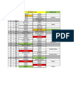 Escala OUTUBRO - TROCAS Versão Feita Com Base Na Tabela de Juliana Araujo